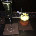 Famous Bloody with Prosecco
