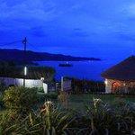 Night over Lake Kivu
