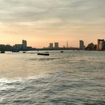 View of london from Greenwich, a 5 min walk from hotel