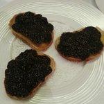 tartine foie gras truffes fraiches