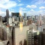 Vista do 20º andar. Edifício Copan e Itália ao fundo.