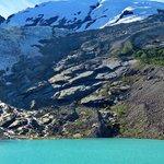 Vista de parte del Glaciar