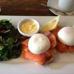 incredible salmon benedict!
