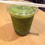 Kale drink (Super tasty like smoothie.)