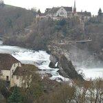 Rheinfall view