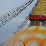 """Painting"" the Stupa"