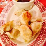 Fried chicken dumplings