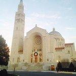 Outside of the Basilica