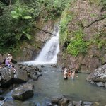 The best waterfall to swim in ever!