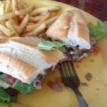 Philly cheese steak - yum!