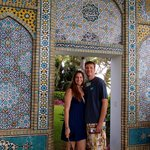 Incredible mosaics and tile work throughout