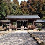 土佐神社の境内