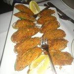 Mussel appetizer