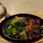 Teriyaki Salmon....WOW!  My mouth did a dance!