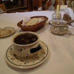 Чернина - суп из утиной крови! )))