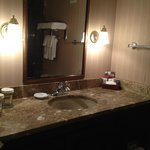 Bathroom was very clean and high-end