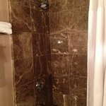 Awesome bathroom with granite -- fantastic water pressure and water temperature