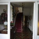 Entrance to our Victorian house