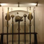 The weaponry of the Nawabs on display