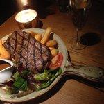 Best steak Gaynor my wife has ever had. Fantastic dish
