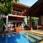 our beach villa with plunge pool