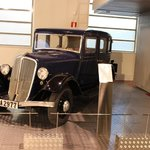 car in the museum