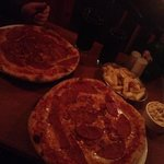 Pizza Parlour American Hot.. doubt it was even taste this good in Italy