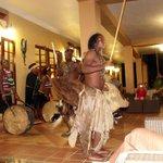 Démonstration de danse Zulu