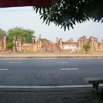 ruins across the road