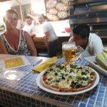 "the best pizza' vegetarian called ""felix"""