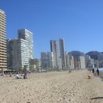levante beach  feb 2014