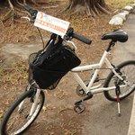 レンタルの自転車