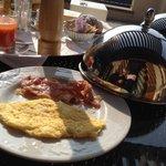 Omelette e pancetta a colazione...da provare!!!