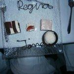 personalised dessert :)