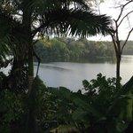 Vista al lago desde el Hotel