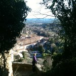 the village of Cotignac
