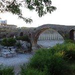 Historische Brücke in der Nähe des Guesthouse