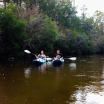 Kayaking down Blackwater Creek!