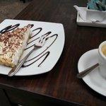 Espresso con Torta de Banoffee