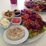 Try the Babaganoush - can thoroughly recommend
