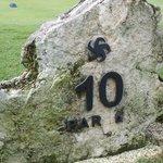 Les numéros sur des pierres