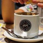 Kaffe - naturligvis med sukker
