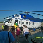 CAMINO A CAYO LARGO EN HELICOPTERO