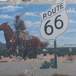 route 66 Tucumcari mural