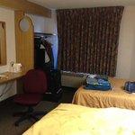 Second floor double twin room.