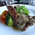 Chef's special: Grilled lamb chop