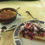 Tiramisu and cake