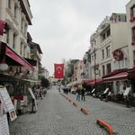 Next street to Topkapi Palace