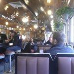 The Square diner inside