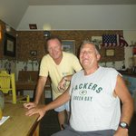 Owner and Roy at Cutter's